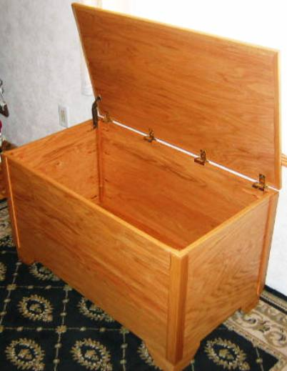 blanket storage chest plans