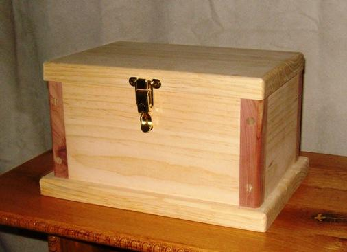 ... equipment, you can construct this simple wooden box, as shown here