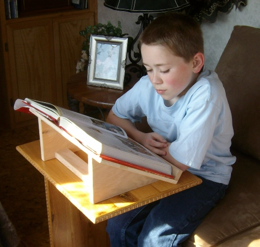 Free book stand plans how to build book stands enjoy your book stand malvernweather Images