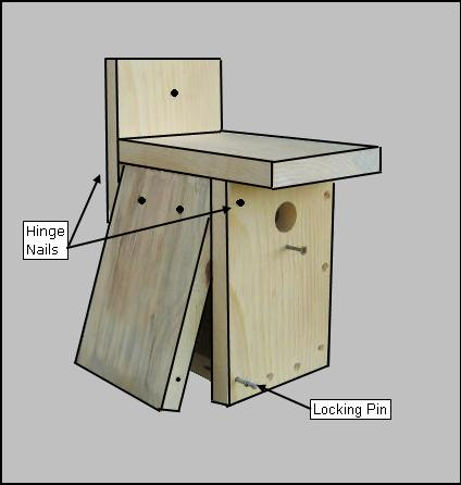 Pdf diy simple birdhouse plans download shelf plans garage for Easy birdhouse ideas