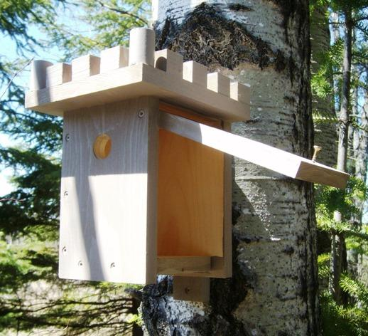 Free Simple Birdhouse Plans - How to Build A Simple Birdhouse
