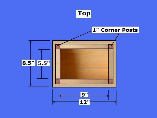 simple wood box plans