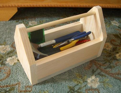 Free Tool Box Plans - How to Make Tool Box Caddies