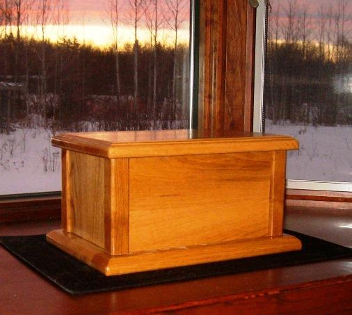Urns Wooden Cremation Box Plans