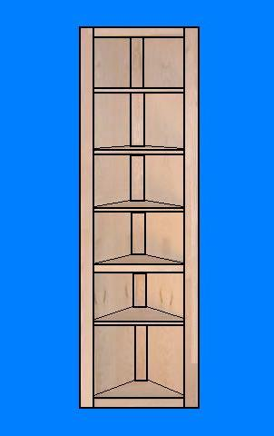 Corner Shelving Unit Plans