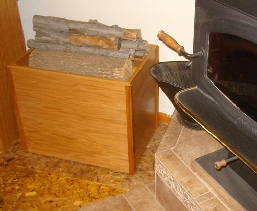 Charmant How To Make Firewood Storage Boxes