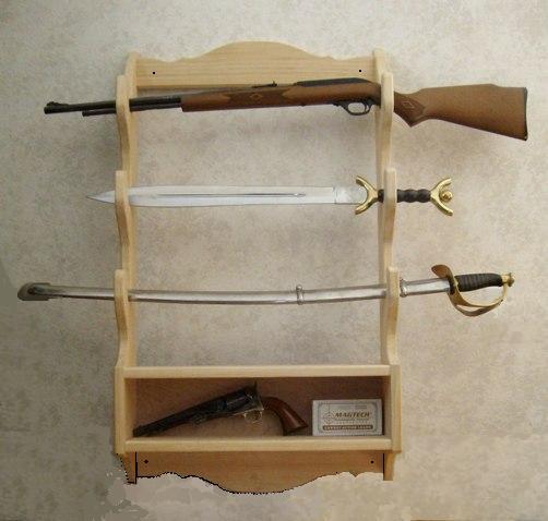 hidden gun shelf plans – woodguides