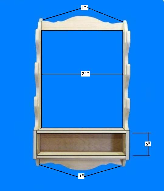 Wood Gun Rack Template PDF Plans