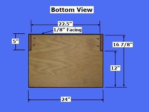 Free Microwave Shelf Plans - How to Build A Microwave Shelf
