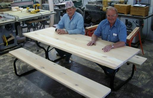 Free Picnic Table Plans How To Build A Picnic Table - Metal wood picnic table