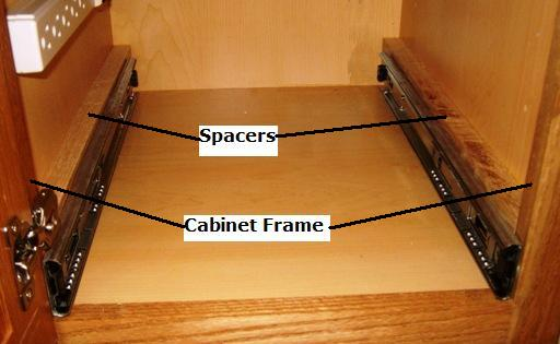 cabinet pull out drawer slides 2