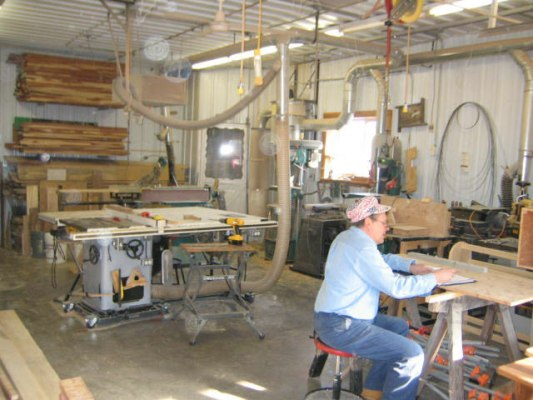 woodworking shop design