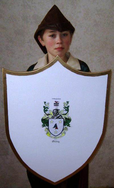 Free Wooden Medieval Shield Plan How To Make A Toy Wood