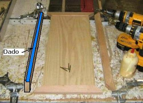 how to build a wood door