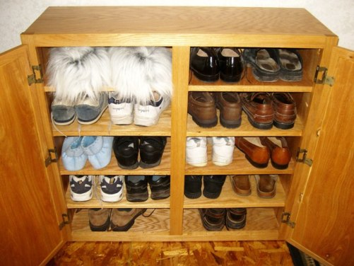 Step 5: Finish the Shoe Rack - Select the 3/4 x 1 1/2 oak material