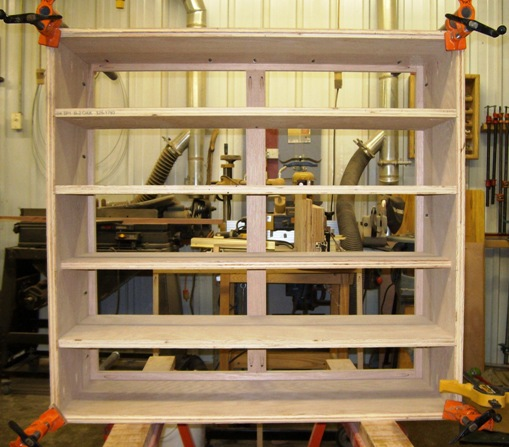 how to build a shoe shelf