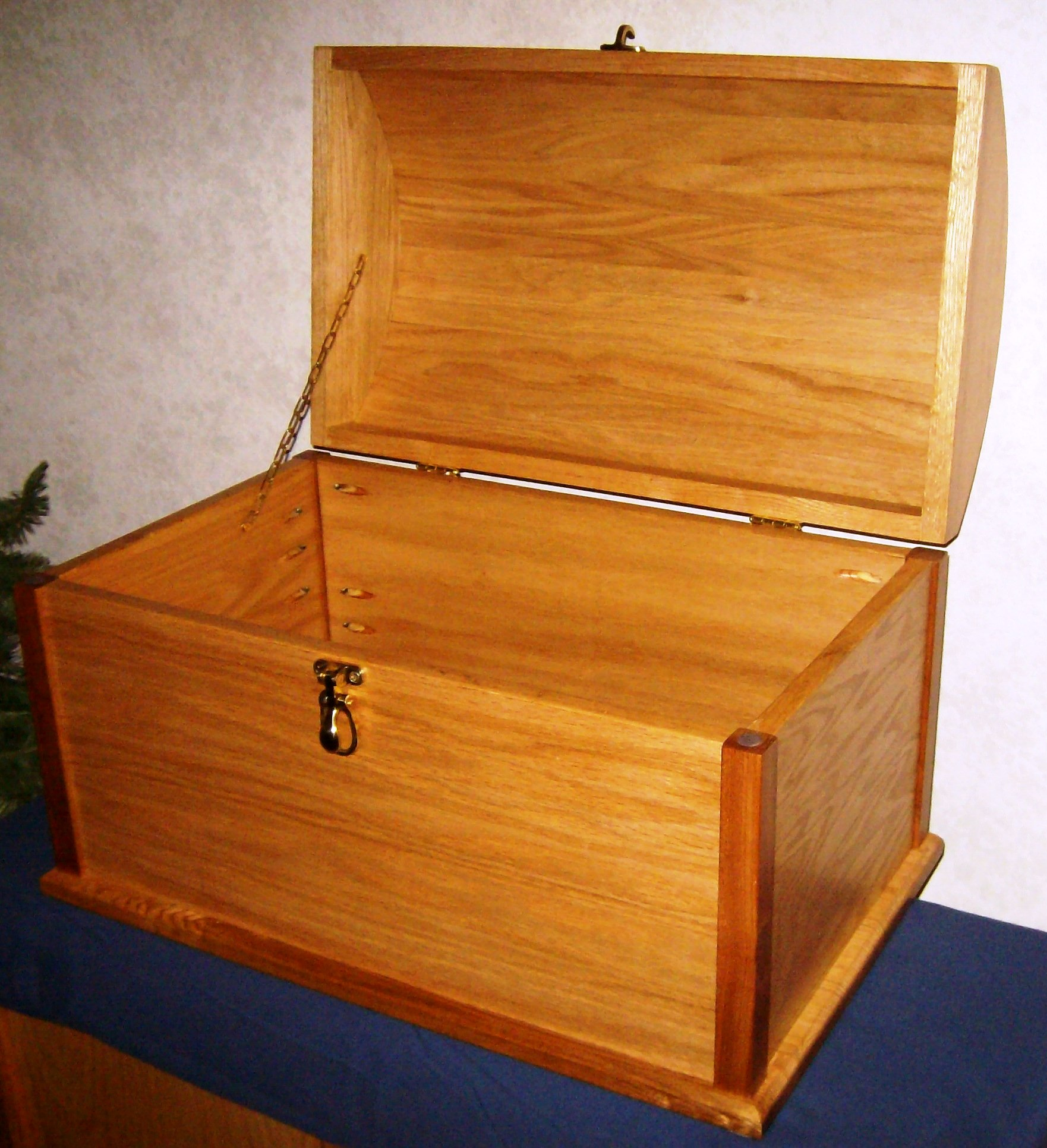 woodworking plans a treasure chest