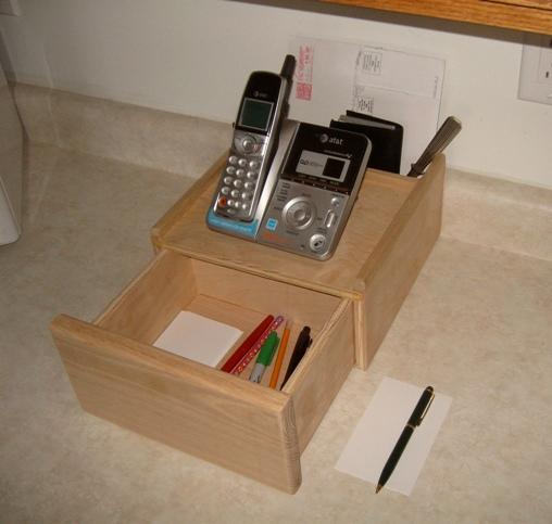 Free Telephone Caddy Plans How To Make A Telephone Caddy