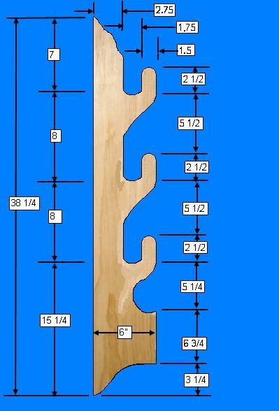 Free Gun Rack Plans How To Build A Gun Rack